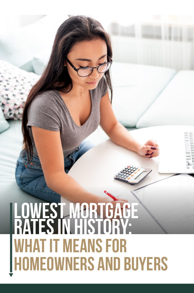 Lowest Rates in History